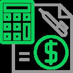 Icono cartera contabilidad