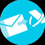 Icono documentos oficiales contabilidad
